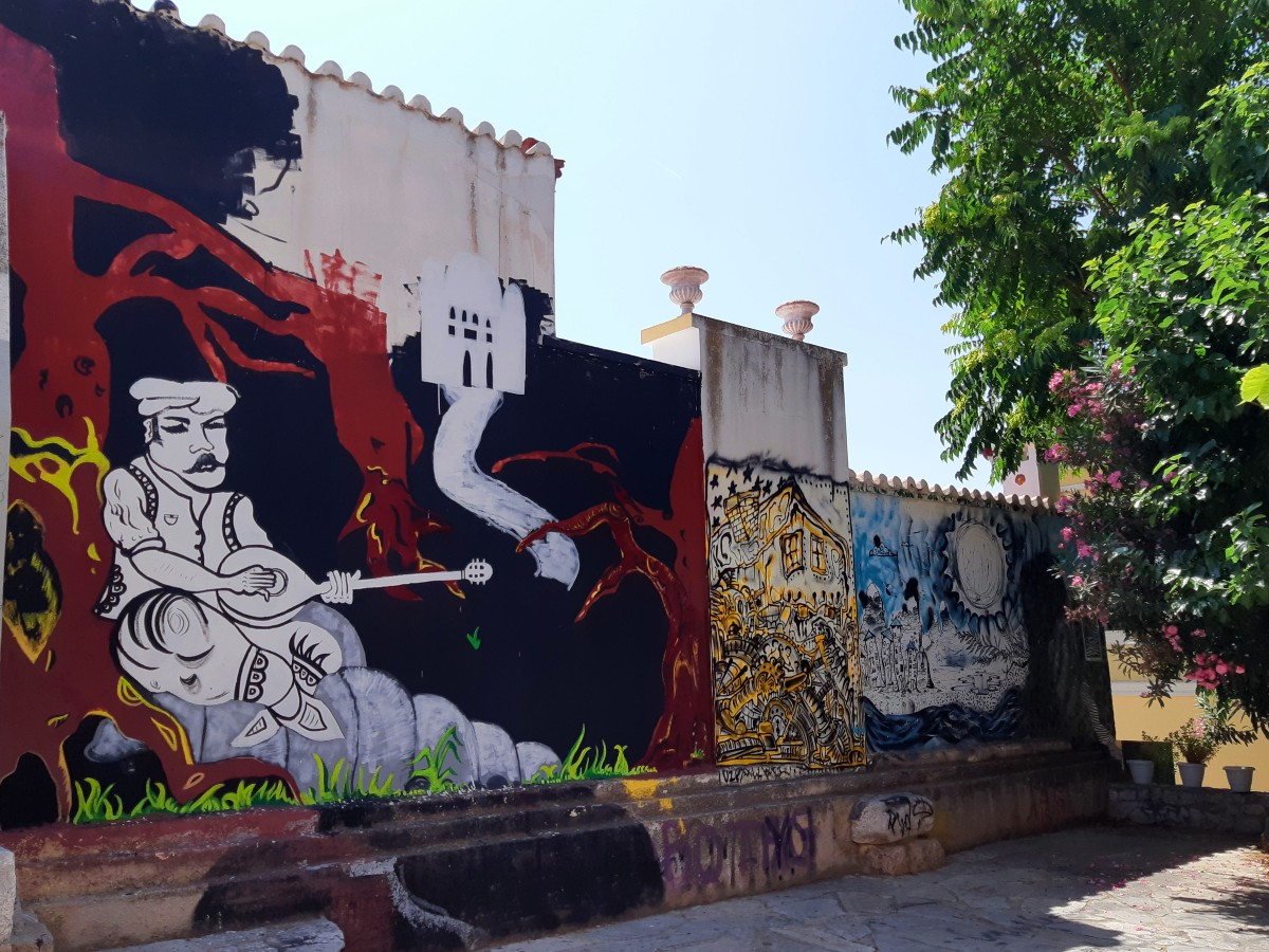 Anafiotika Athens - Street art