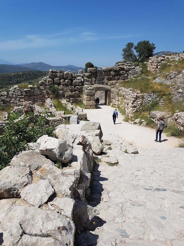 UNESCO Mycenae in Greece