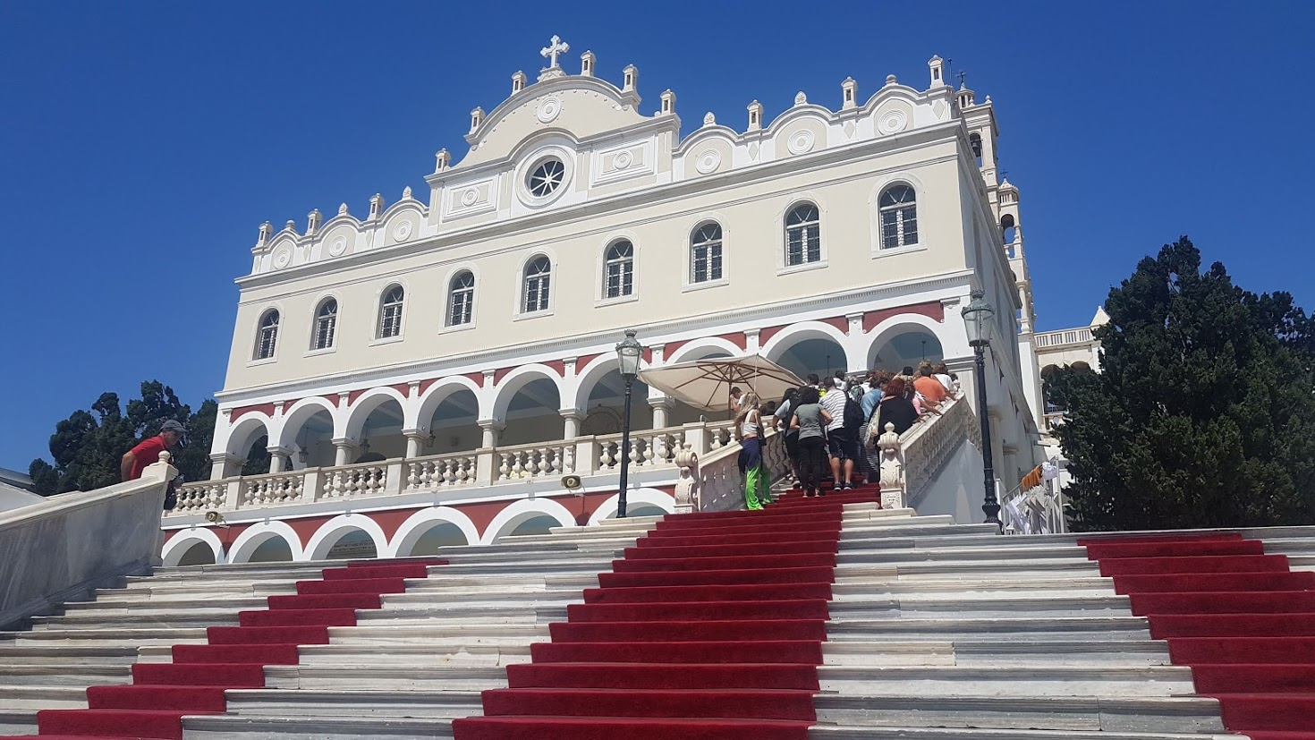 Our Lady of Tinos Church of Miracles - Tinos Island Greece