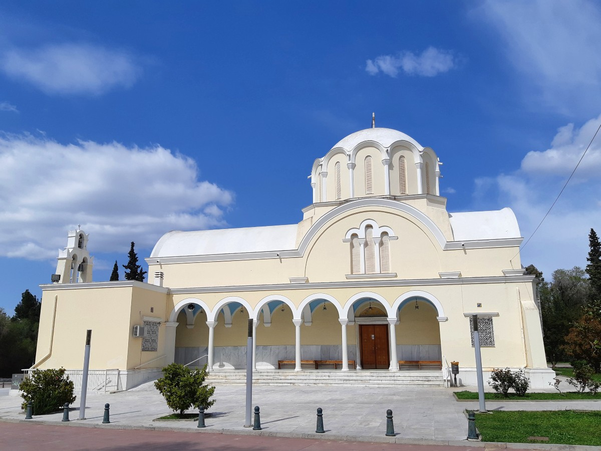 A Greek church