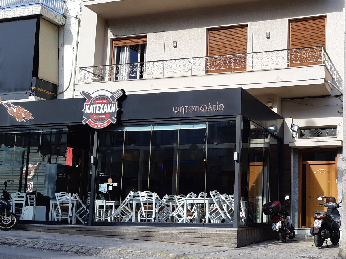 Closed restaurants in Greece during Coronavirus