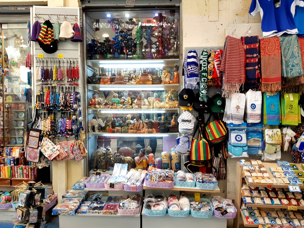 Shopping in Athens Greece
