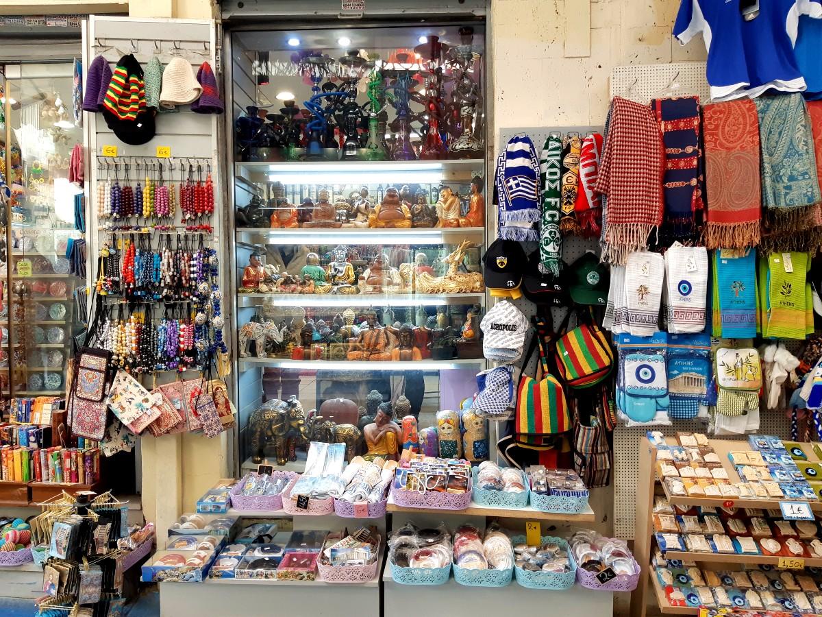 Sunday shopping Athens - Monastiraki street market