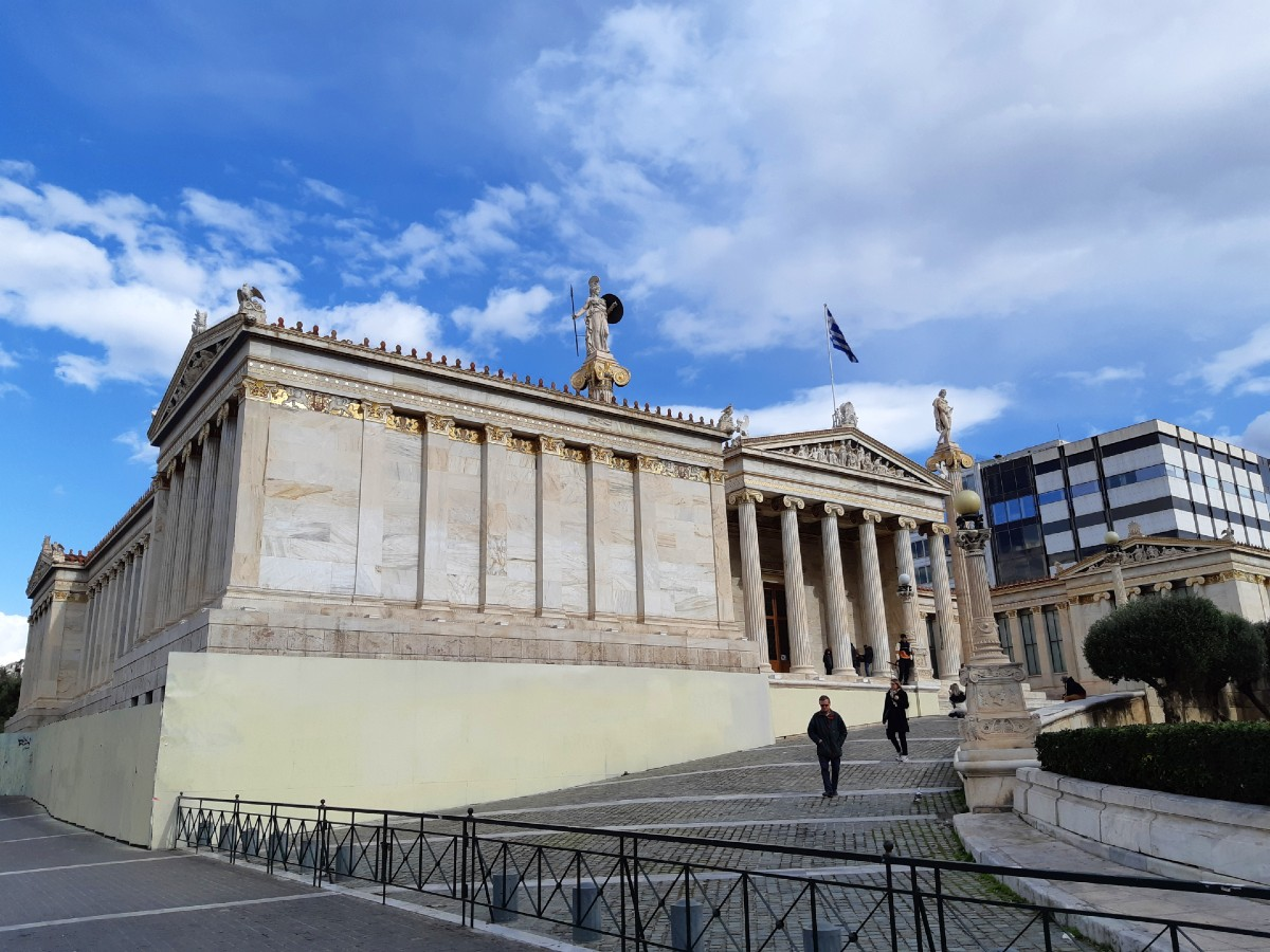 Neoclassical buildings Athens