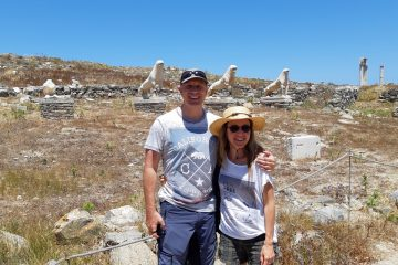 The stunning Delos archaeological site