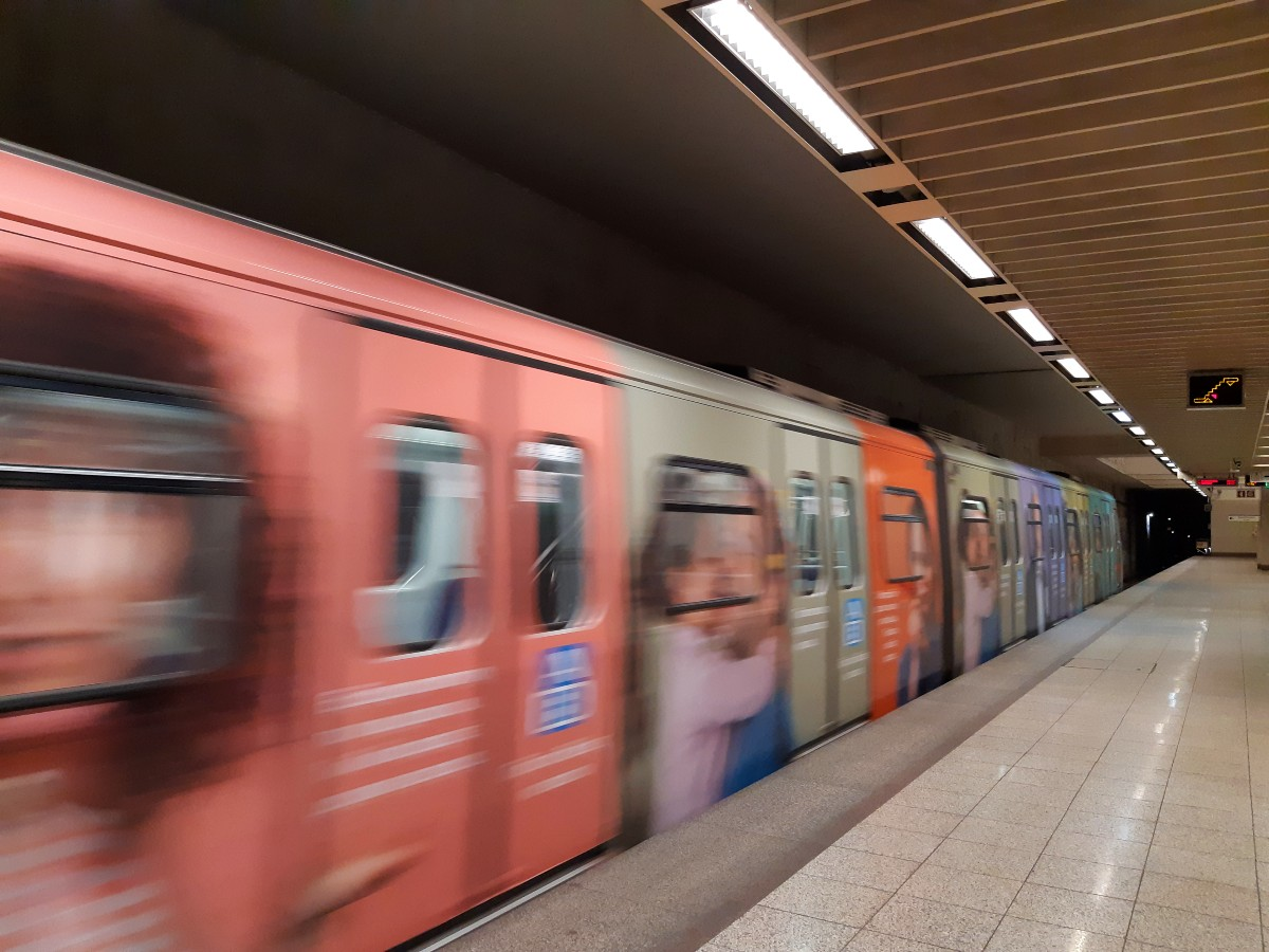 The Athens Metro system