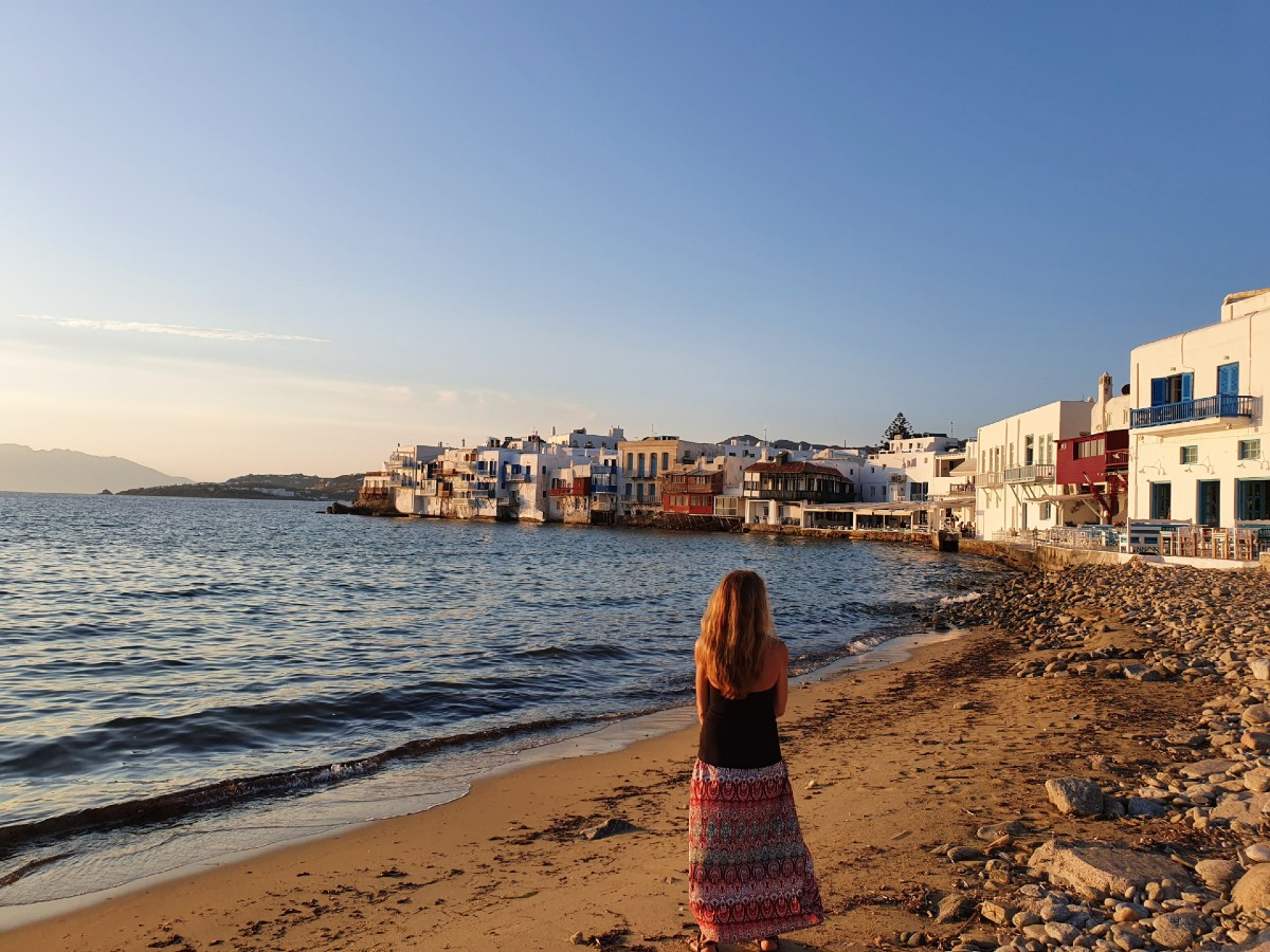 Little Venice in Mykonos without the crowds