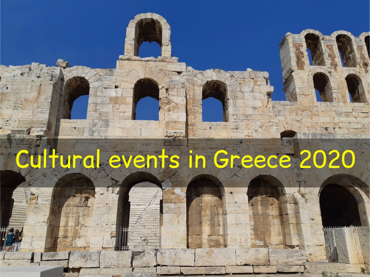 Cultural events in Greece 2020