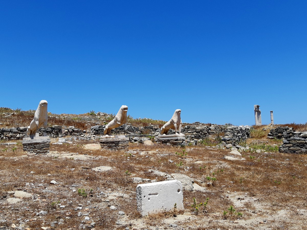 Delos UNESCO archaeological site Greece