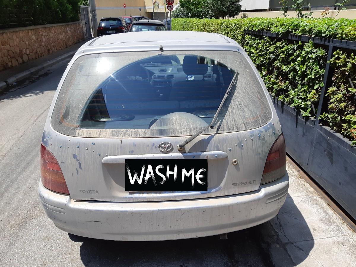 Hiring a car in Santorini