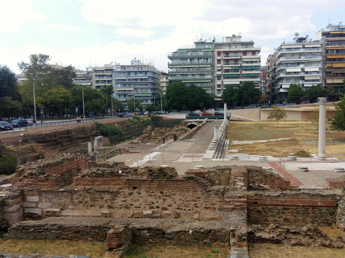 Roman Agora, Thessaloniki Greece