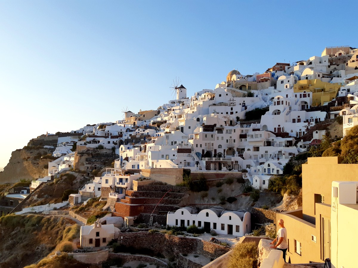 A view of Oia