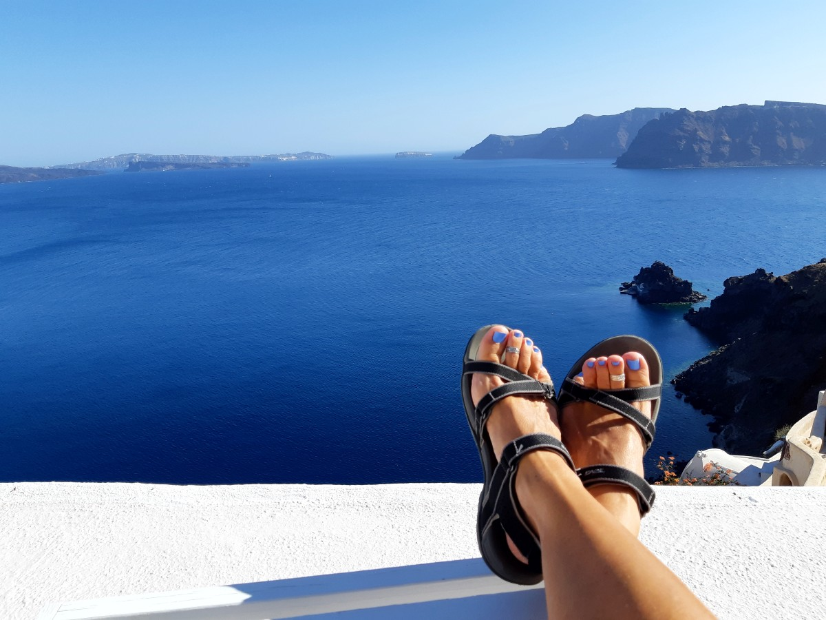 A view from Oia