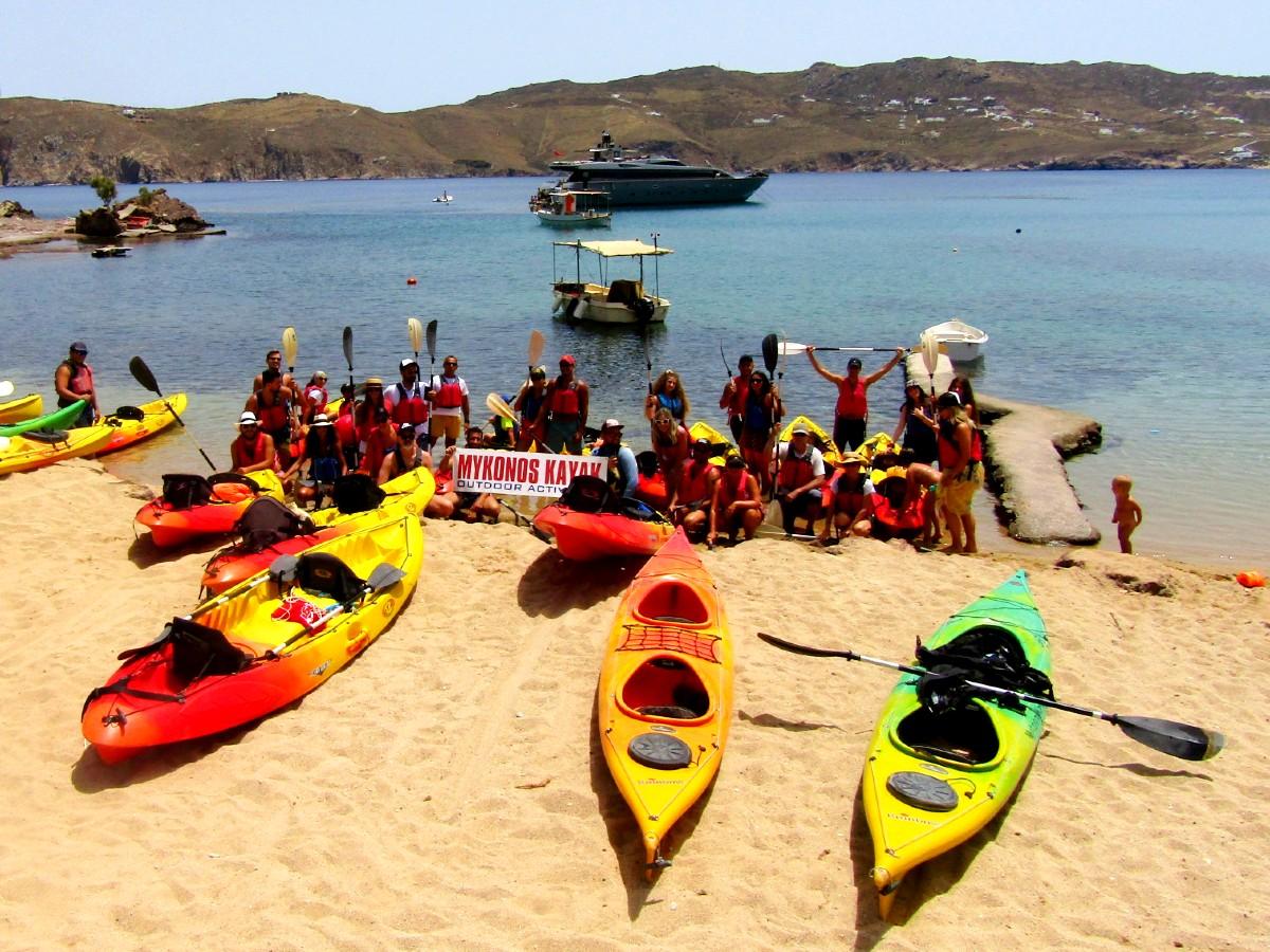 A trip with Mykonos Kayak