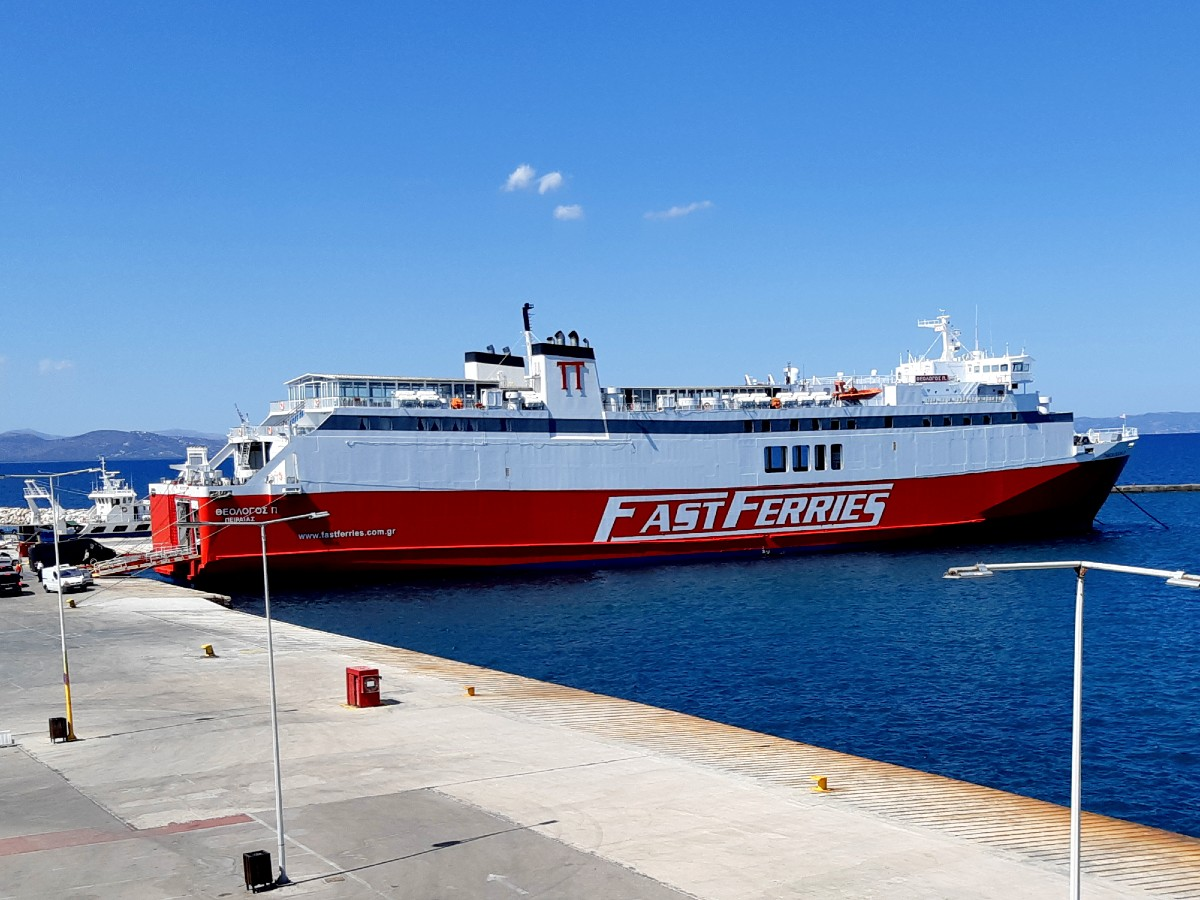 Travel to Mykonos Greece by ferry