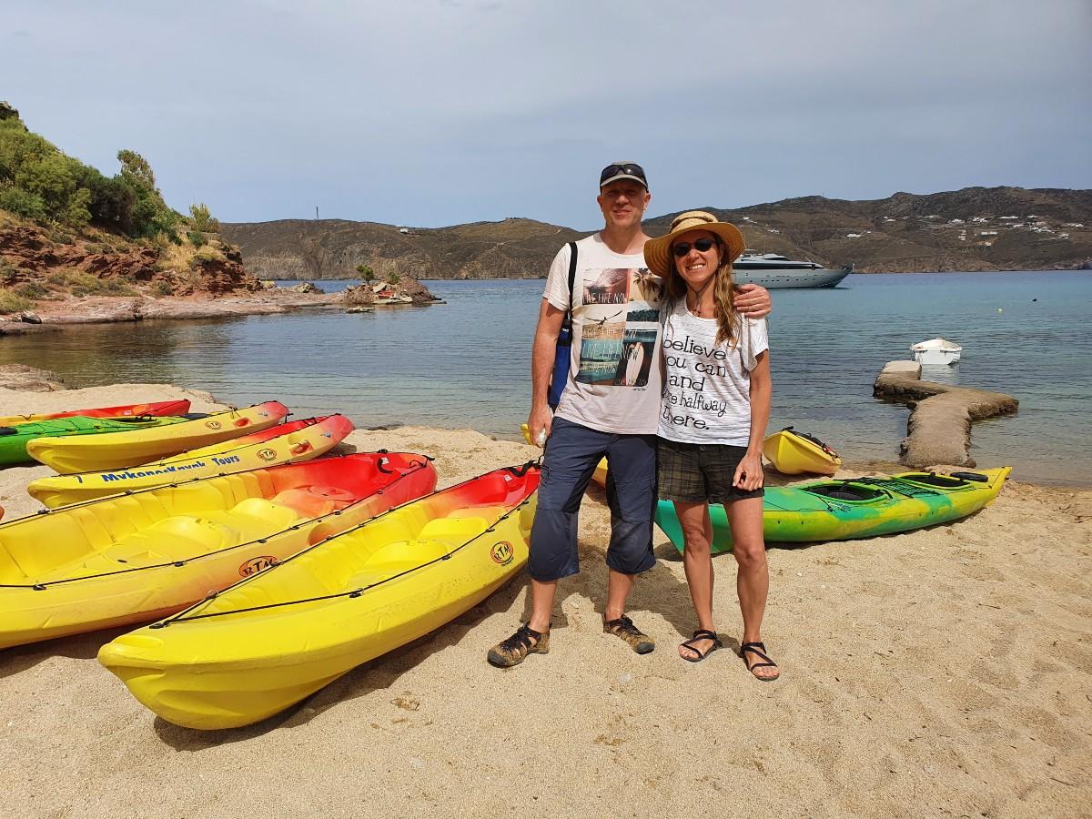 Mykonos kayak - Kayaking trips in Mykonos