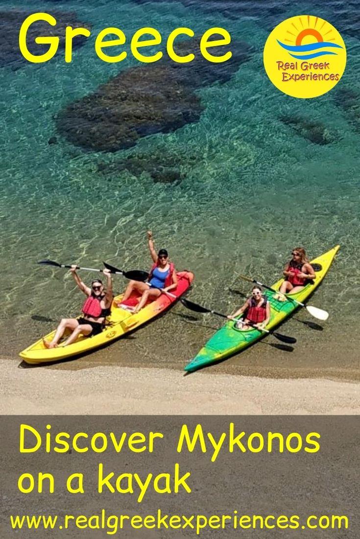 Kayaks in Mykonos