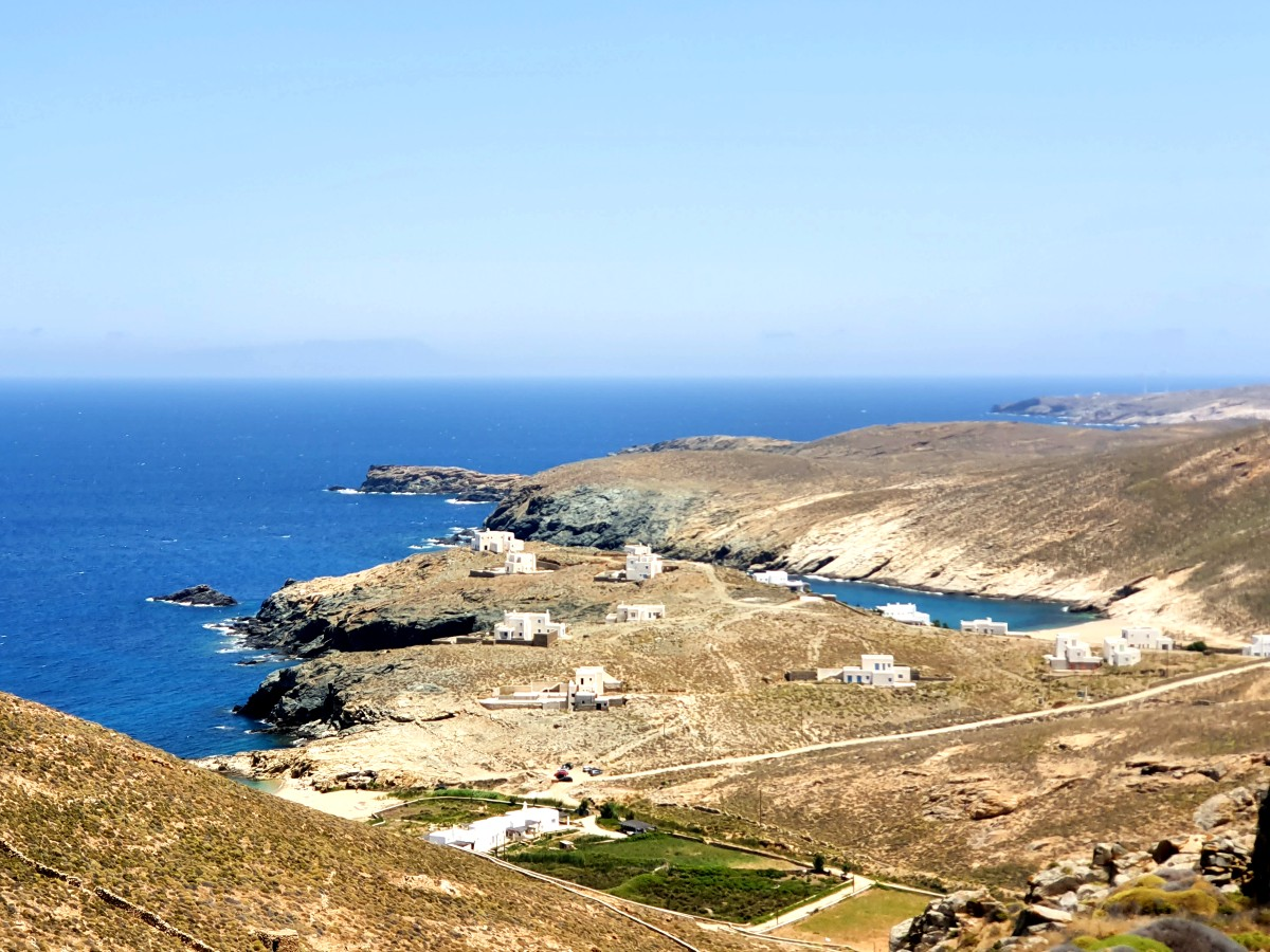 A view of Mykonos Greece