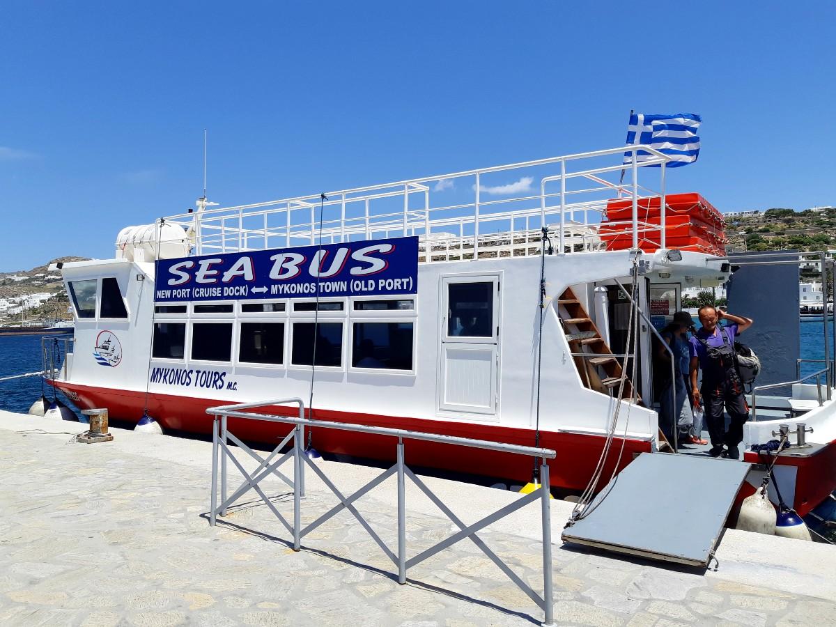 Boat trip to Delos