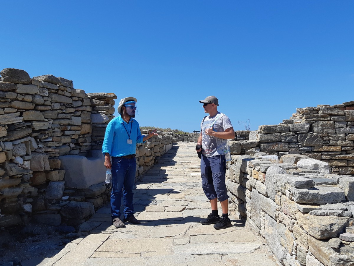 Private Ancient Delos tour
