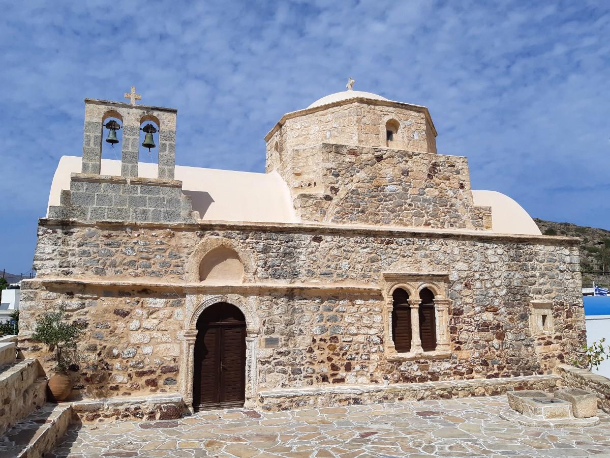 A church in Chorio Kimolos