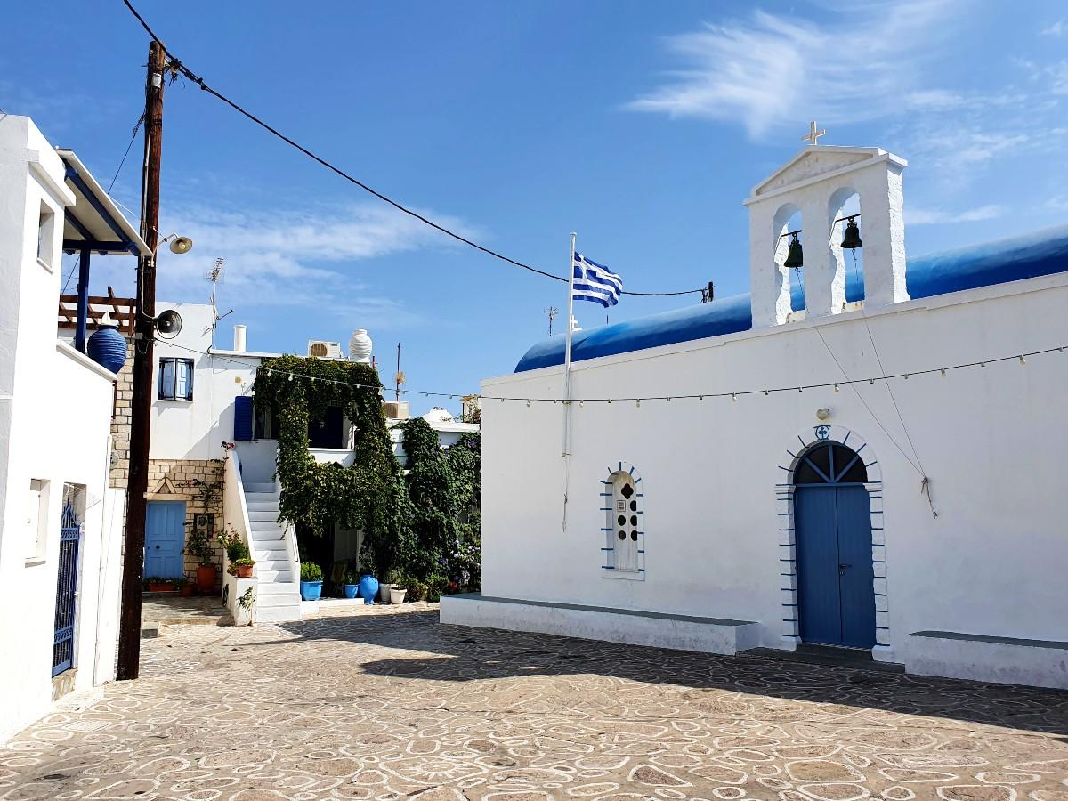 Church in Chorio Kimolos