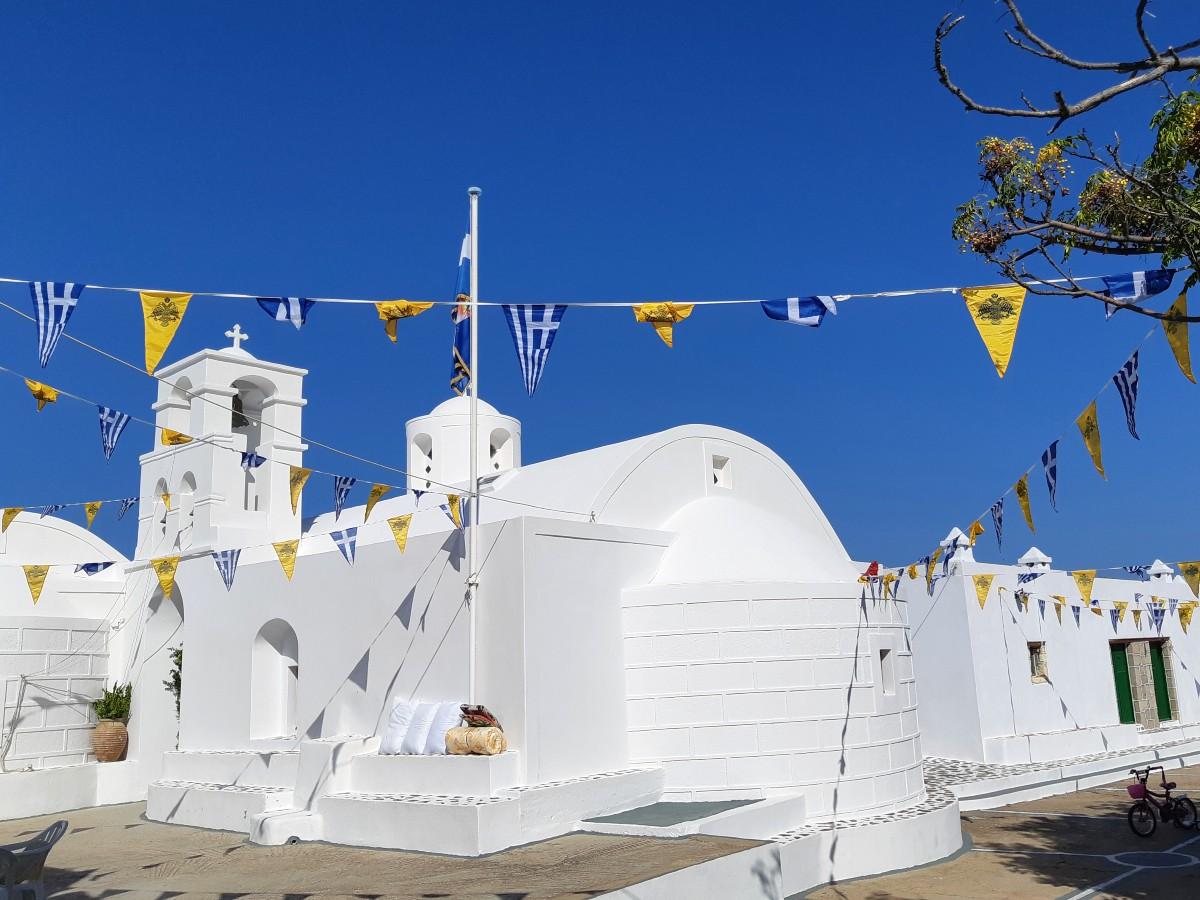 Monastery of St John Milos Greece