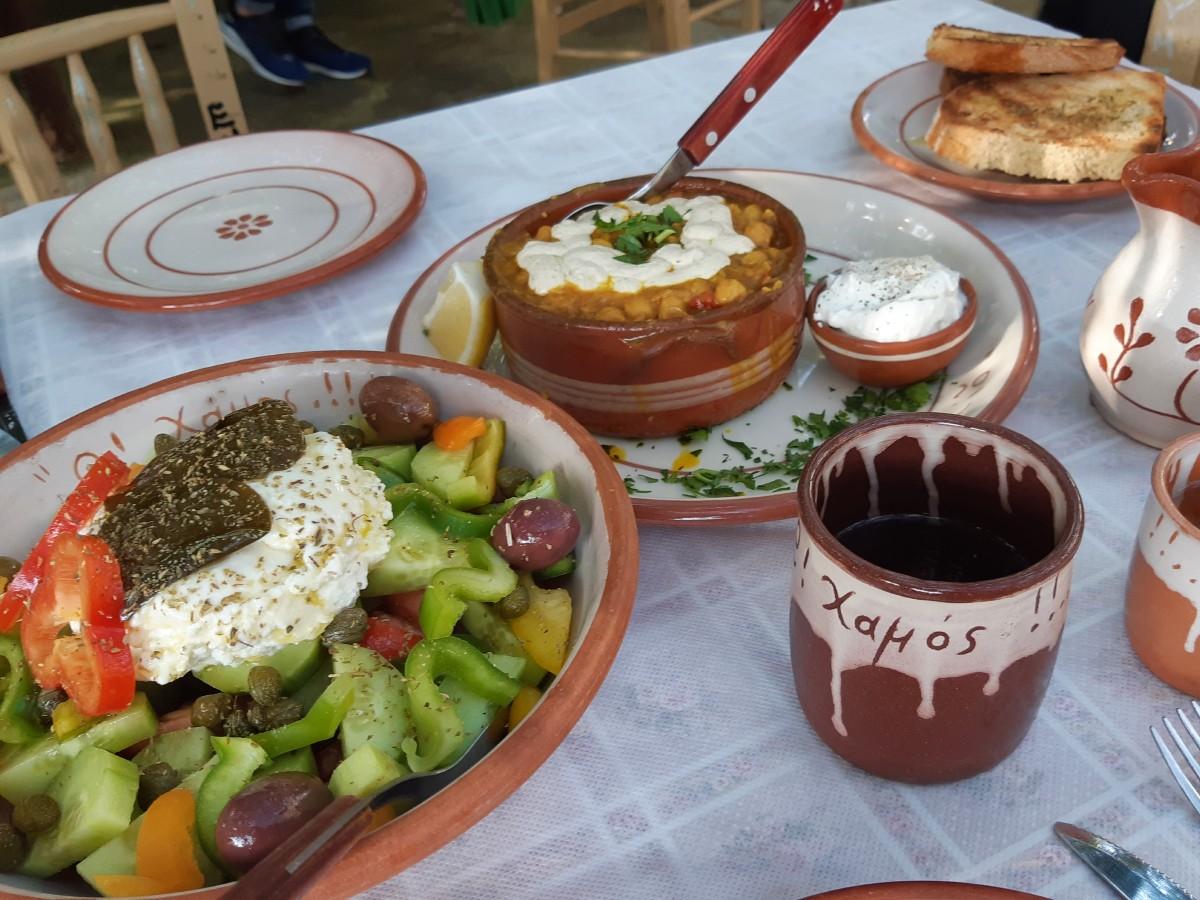 Reasons to visit Milos Greece - Good at O Chamos taverna