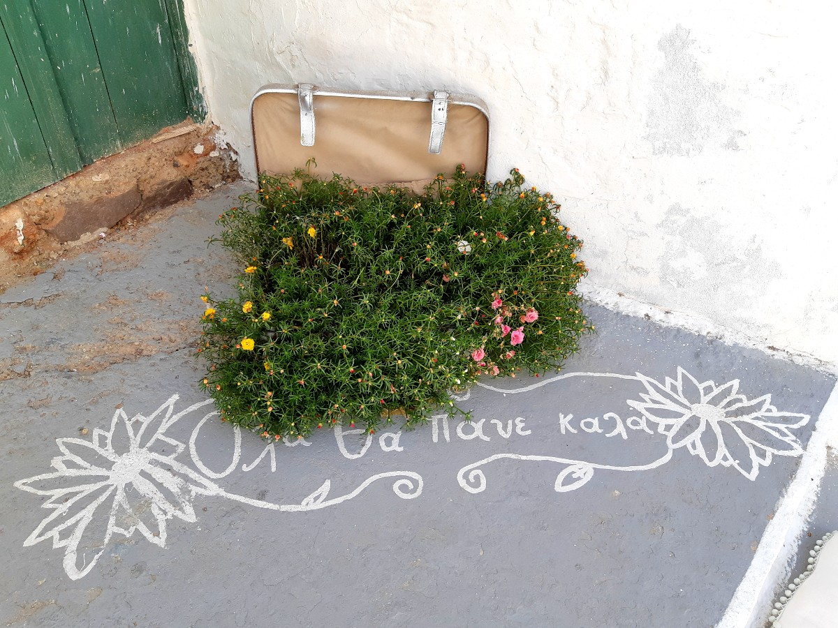 """""""Everything will be alright"""" in Kimolos Greece"""