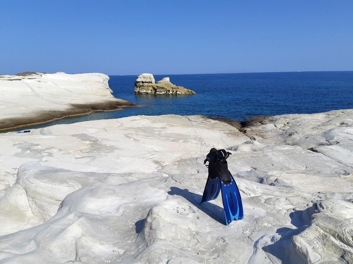 Sarakiniko beach is one of the reasons to visit Milos in Greece