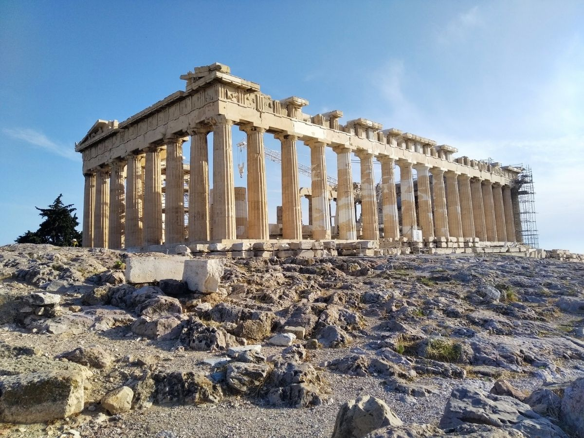 Lockdown restrictions in Greece April 2021 - The Acropolis is open