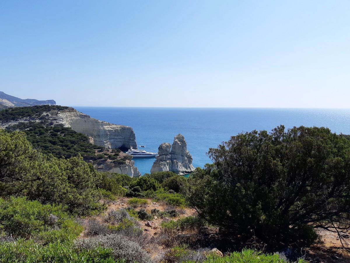 Reasons to visit Milos - Kleftiko beach