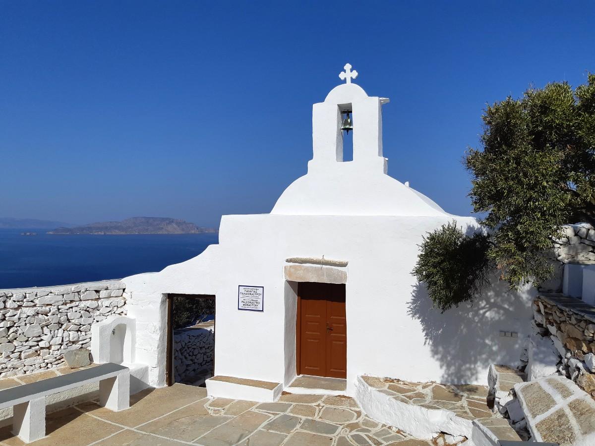 Church in Ios island Greece
