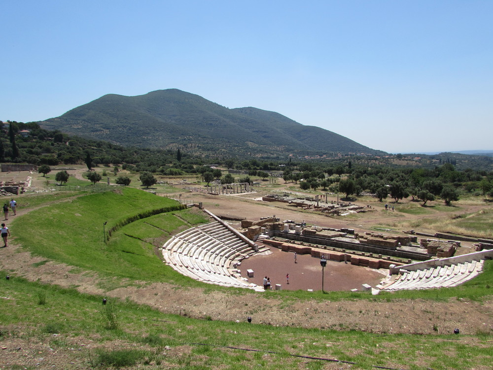 Theatre of ancient Messene Greece