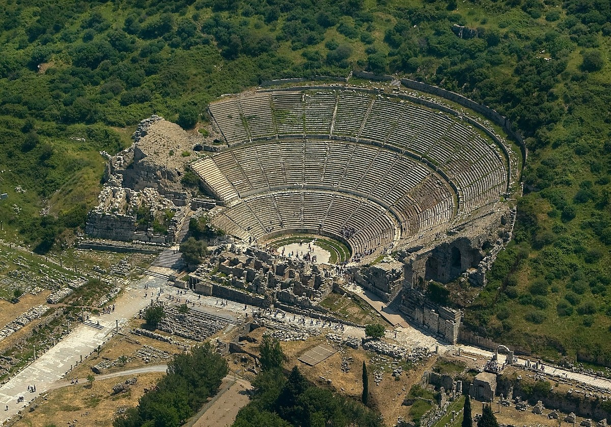 Ancient theaters - Ephesus