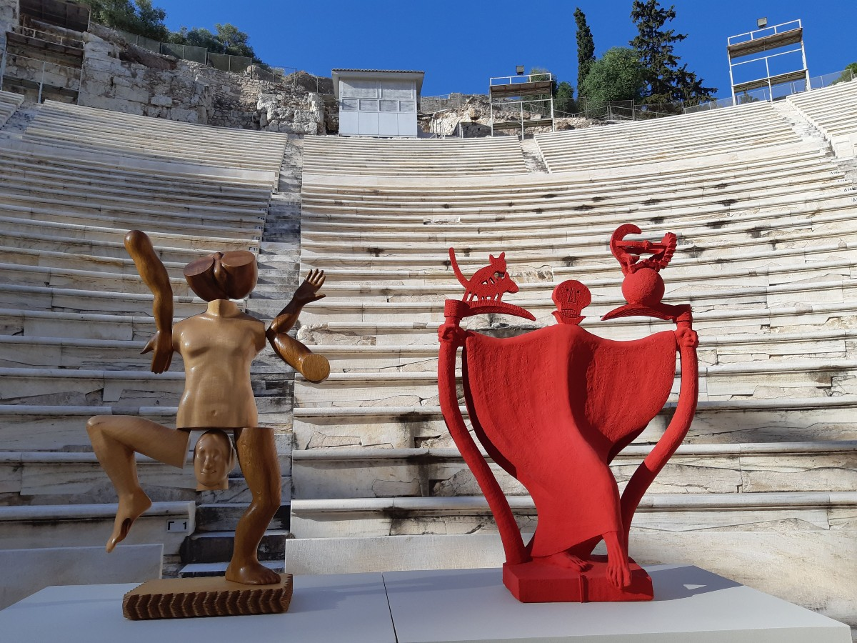 Theatres of Ancient Greece - Art installation
