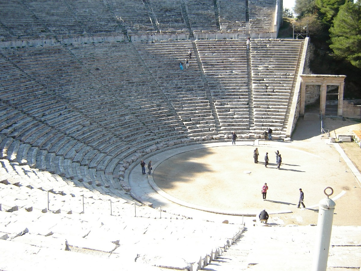 Ancient theatres in Greece - Epidaurus