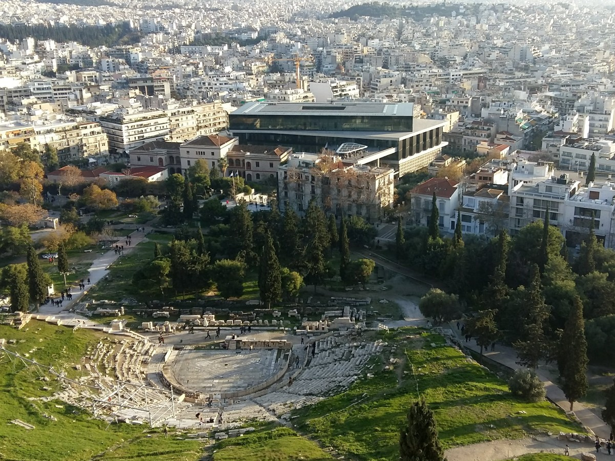 Outdoor Greek theater of Dionysus