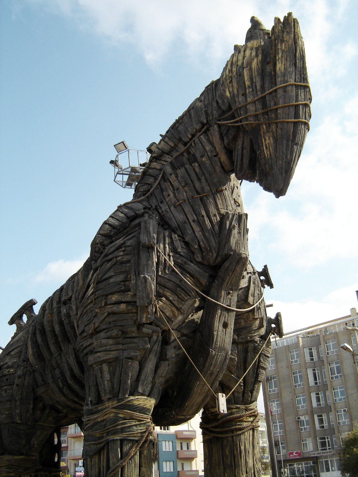 The Trojan Horse from Troy - Ancient Greek movie