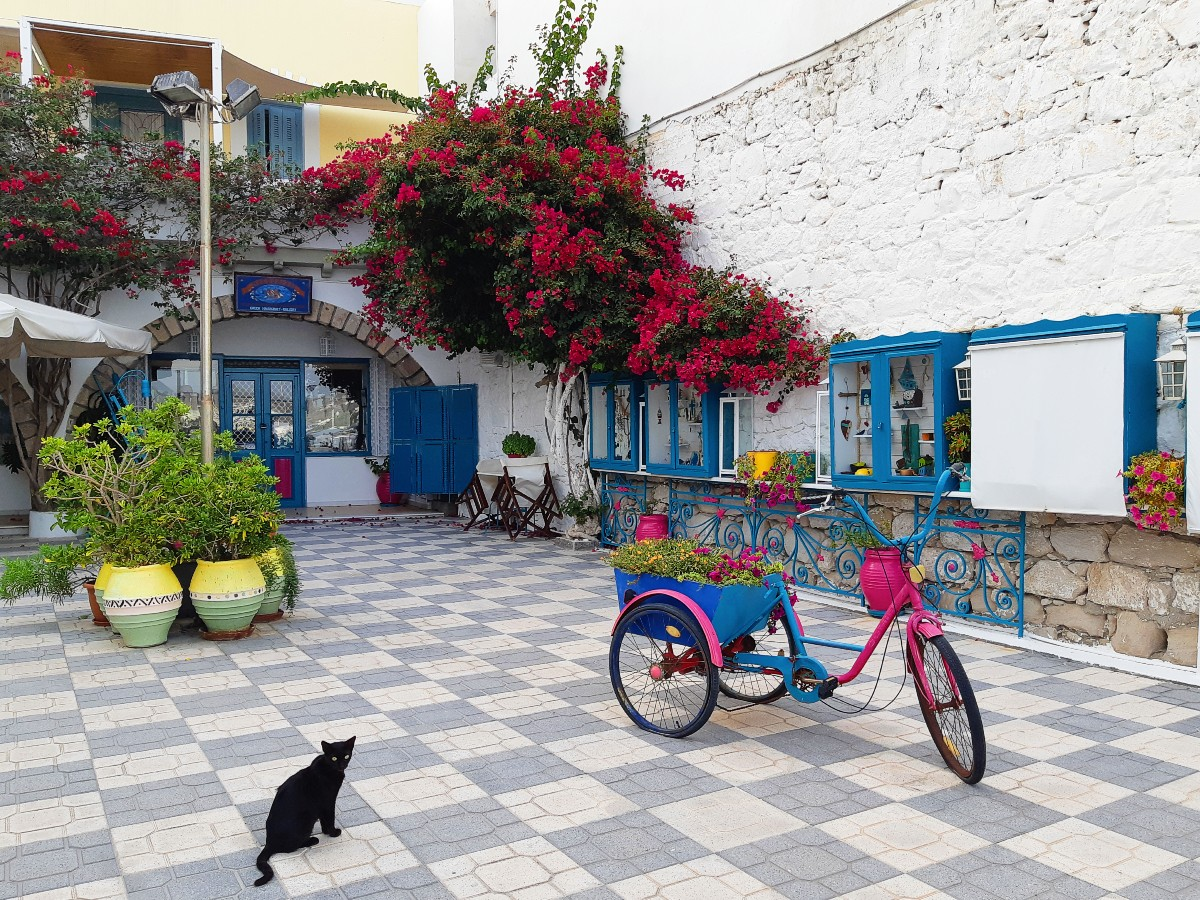 A bicycle in Milos Greece