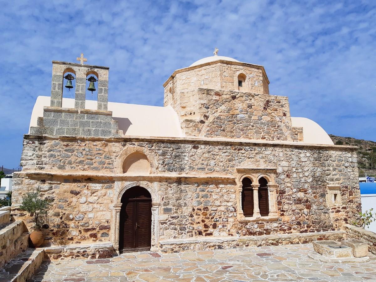 Church in Kimolos in the Cyclades