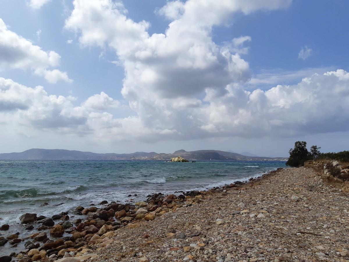 A beach in Kimolos Greece - Late summer