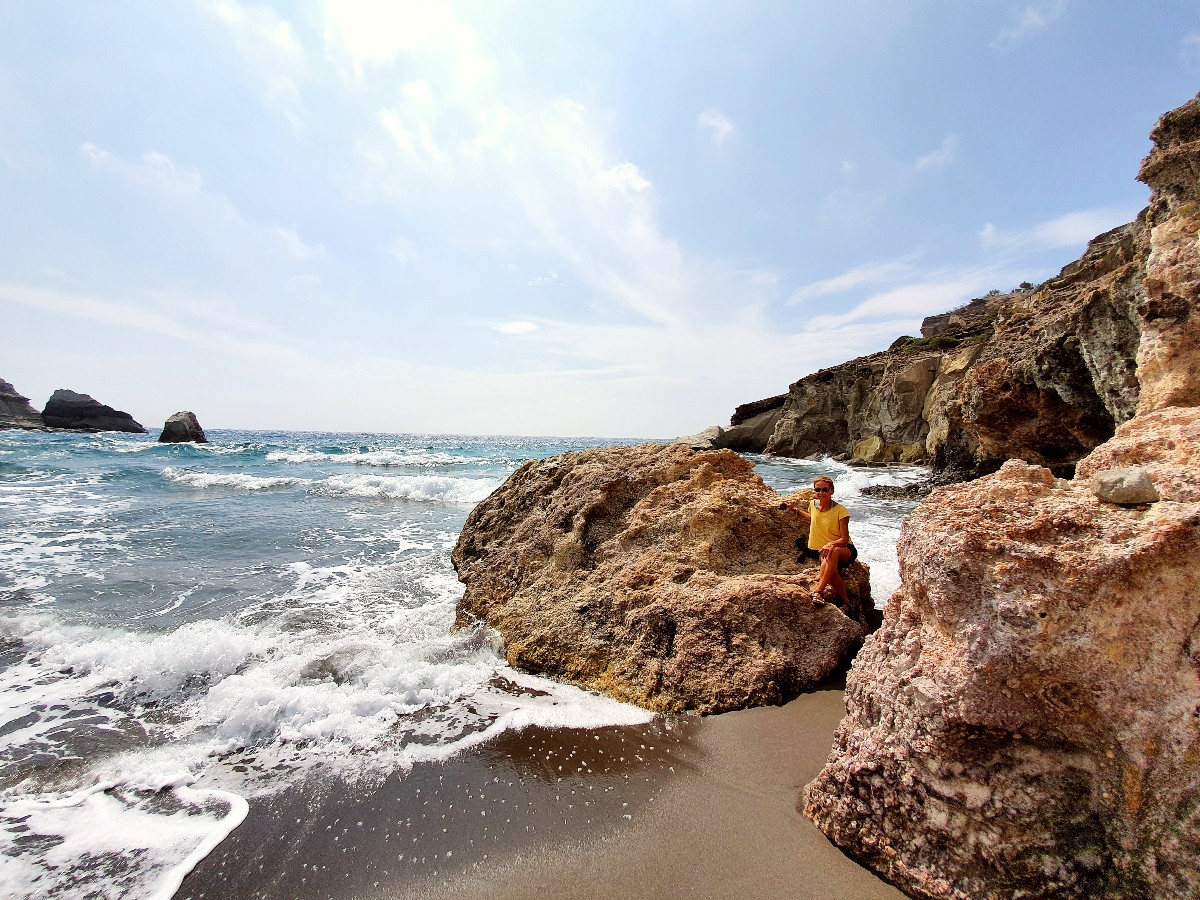 Gerontas beach Milos