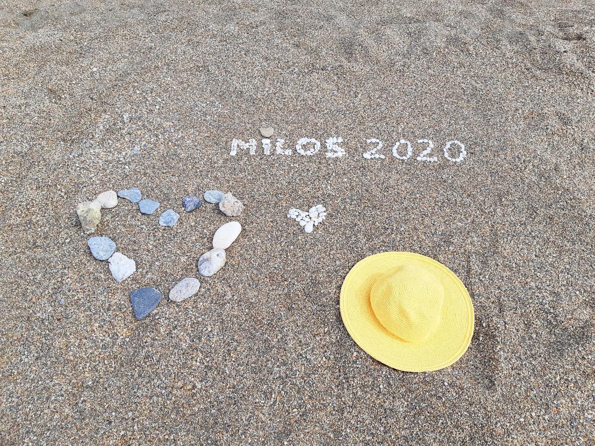 Beaches in Milos Greece