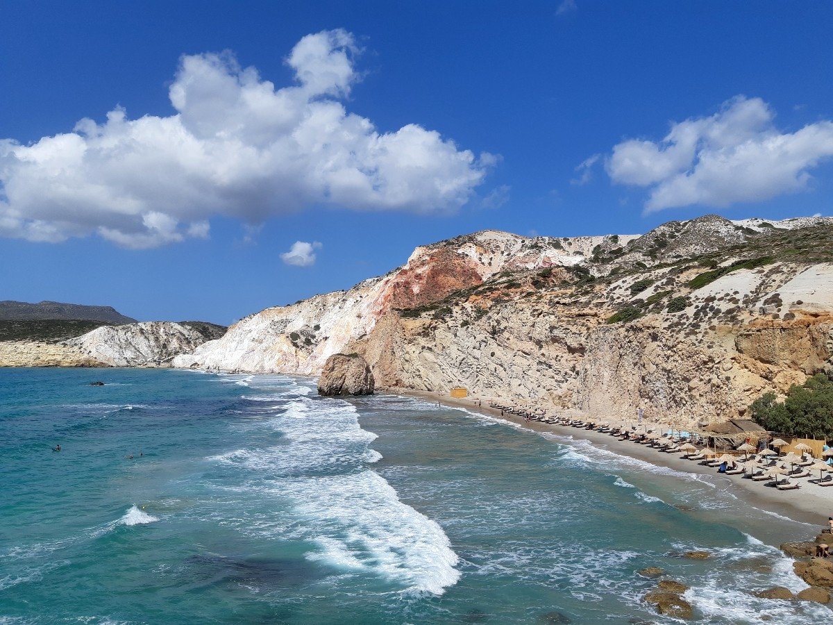 Amazing beach Milos Fyriplaka