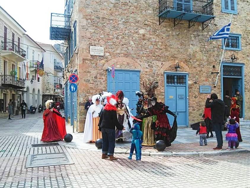 Carnival in Nafplio Greece