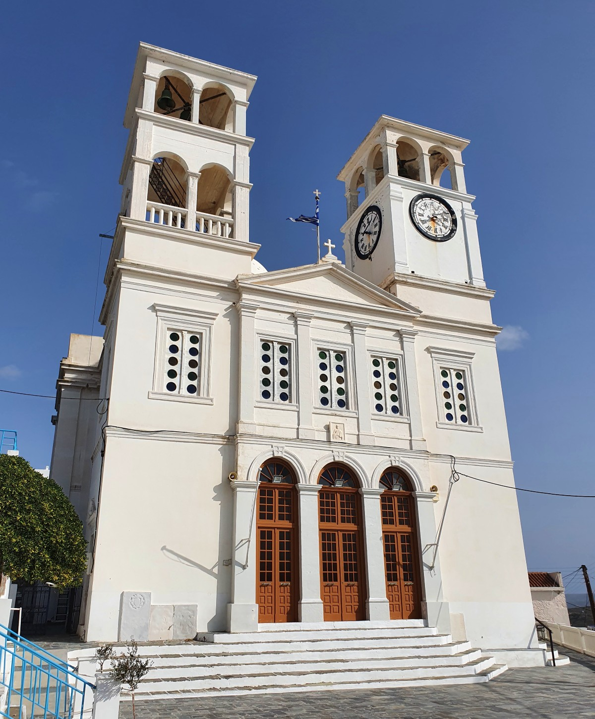 Trypiti village Milos Greece - Church