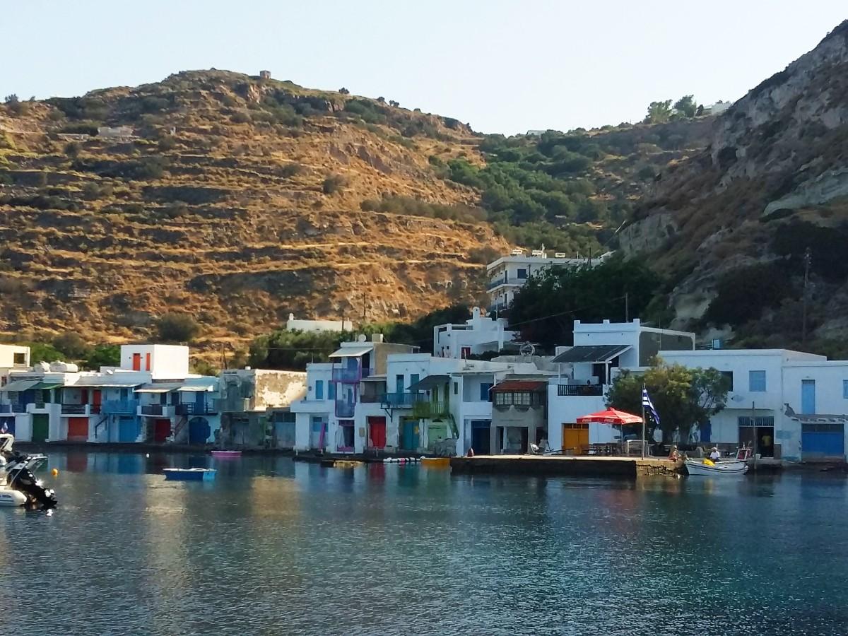 Milos Greece - A fishing village