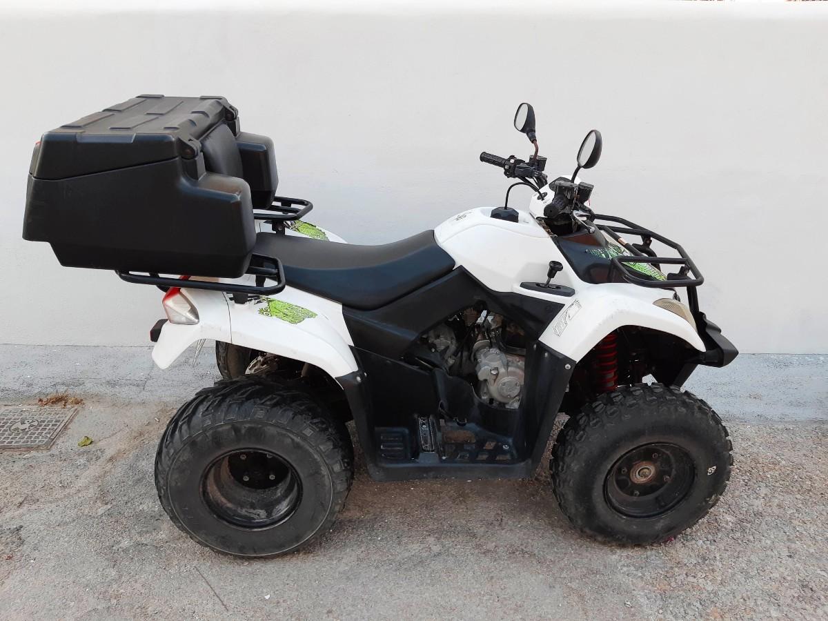 Rent an ATV in Milos Greece