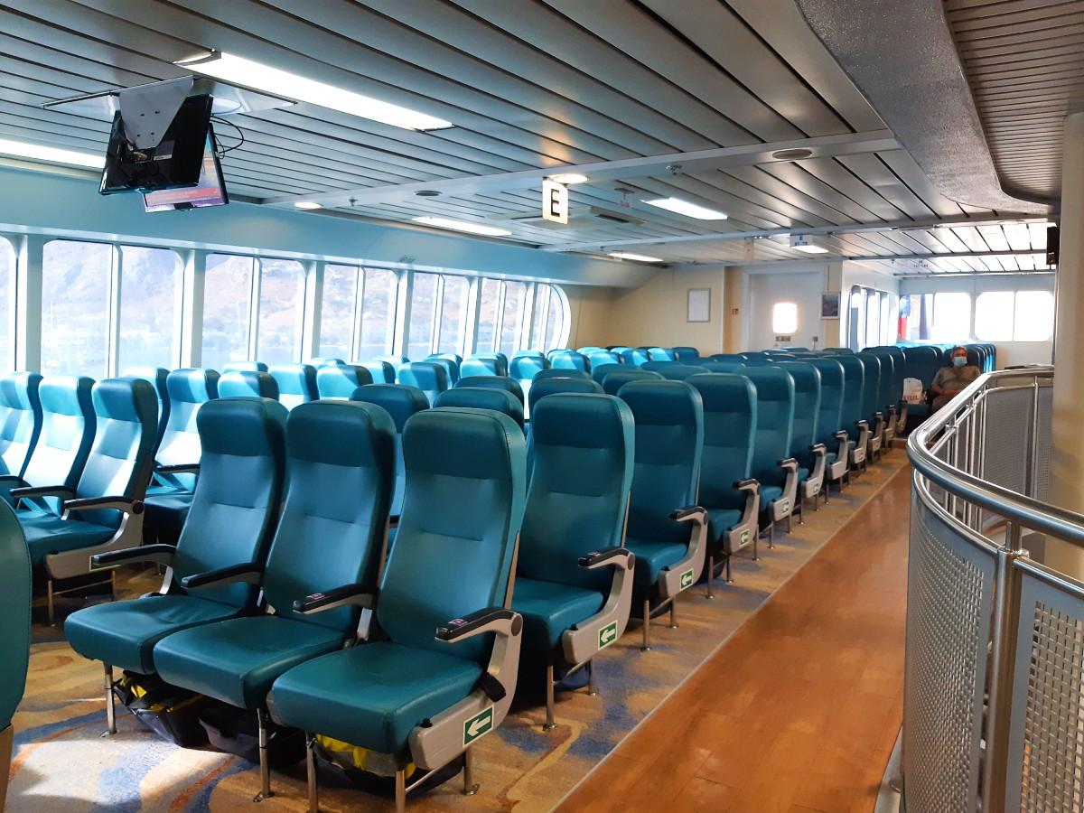 Inside the Sea Jet